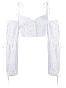 Daizy Shely broderie anglaise blouse - White