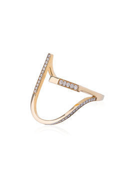 Kova - Yellow Gold R.05.11 Diamond Ring - Damen - 18kt Gold/Diamond - 52 - Metallic