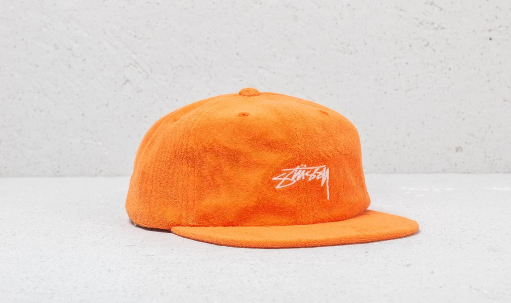Stüssy Terry Cloth Cap Orange