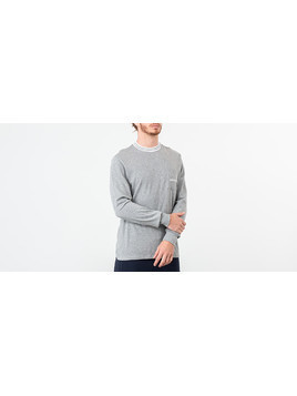 Aimé Leon Dore Longsleeve Collar Tee Heather Grey