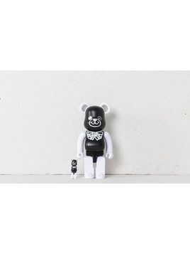 Medicom Toy Be@rBrick FREEMASONRY 100% + 400% Set Black