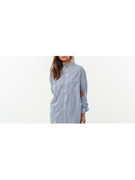 HOPE Brave Shirt Blue Stripe