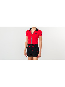 Lazy OAF Lazy Red Zip Tee Red