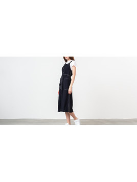 WOOD WOOD Charlotte Dress Navy
