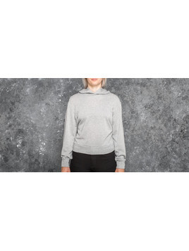 Cheap Monday Attract Giltter Hood Grey Melange