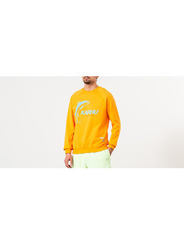 "Karhu X R-Collection: ""CATCH OF THE DAY"" Crewneck Tangerine/ Tourmaline"