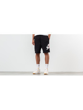 Jordan Jumpman Classics Shorts Black/ White/ Gym Red/ White