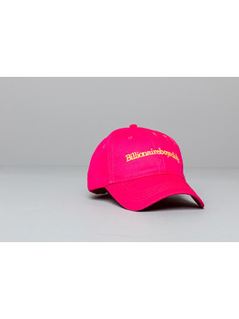 Billionaire Boys Club Embroidered Curved Visor Cap Pink
