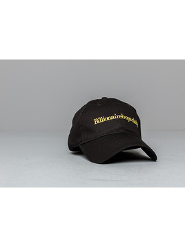 Billionaire Boys Club Embroidered Curved Visor Cap Black