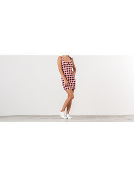 Lazy Oaf Gingham Dress Pink