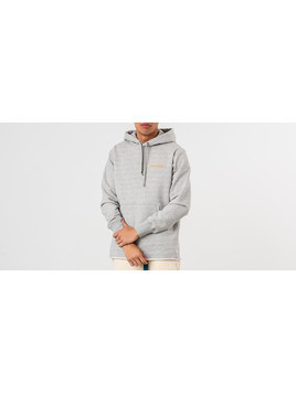 Aimé Leon Dore Raw Edge Hoodie Heather Grey