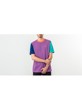 Aimé Leon Dore Colour Block Tee Purple Tape