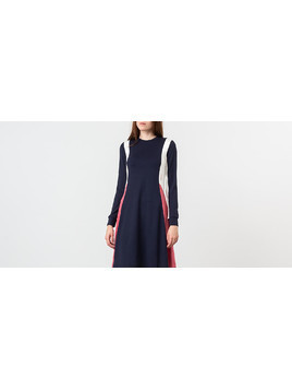 WOOD WOOD Mandy Dress Navy Colorblock