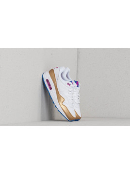 Nike Air Max 1 (GS) White/ White-Metallic Gold