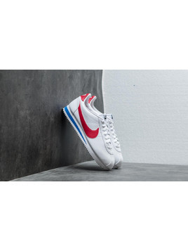 Nike Wmns Classic Cortez Leather White/ Varsity Red-Varsity Royal