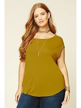 Plus Size Strappy-Back Top