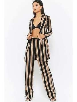 Striped Jacket&Pants Set