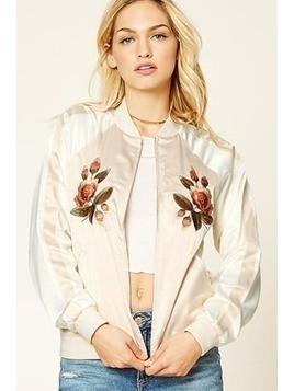 Contemporary Graphic Bomber