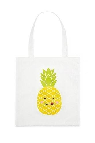 Pineapple Graphic Tote Bag