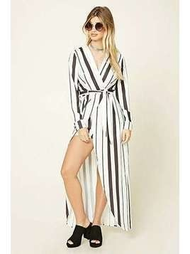 Selfie Leslie Striped Playsuit