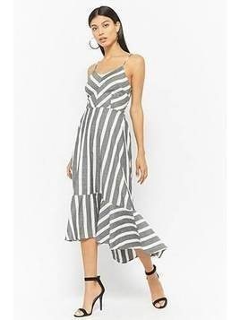 Striped Cami Cutout Dress
