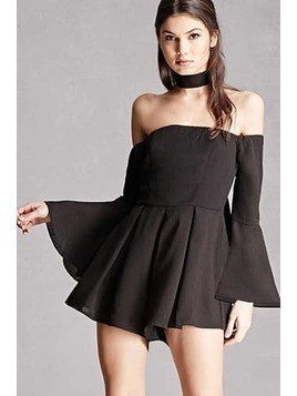 Selfie Leslie Off-the-Shoulder Romper
