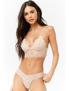 Scalloped Lace Thong