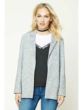 Contemporary Marled Blazer