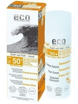 ECO COSMETICS SURF & FUN Krem na słońce SPF 50+, 50 ml