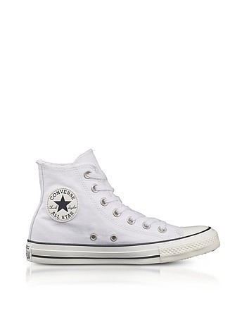 Chuck Taylor All Star High White Canvas Sneakers