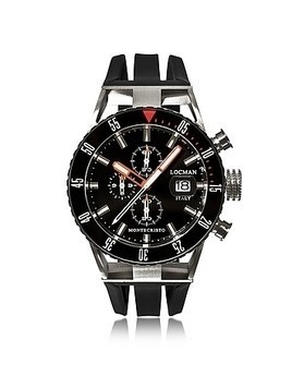 Montecristo Black PVD Stainless Steel&Titanium Chronograph Men's Watch