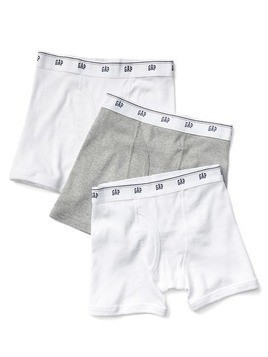 Gap Solid Boxer Briefs (3 Pack) - Multi