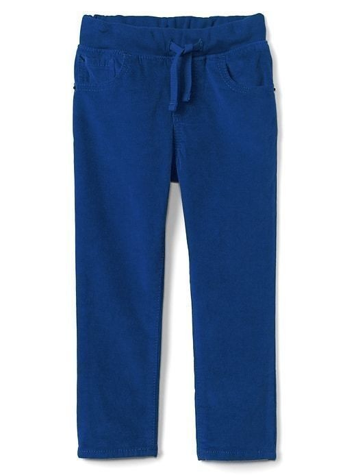 Gap Pull On Slim Fit Cords - Blue lapis