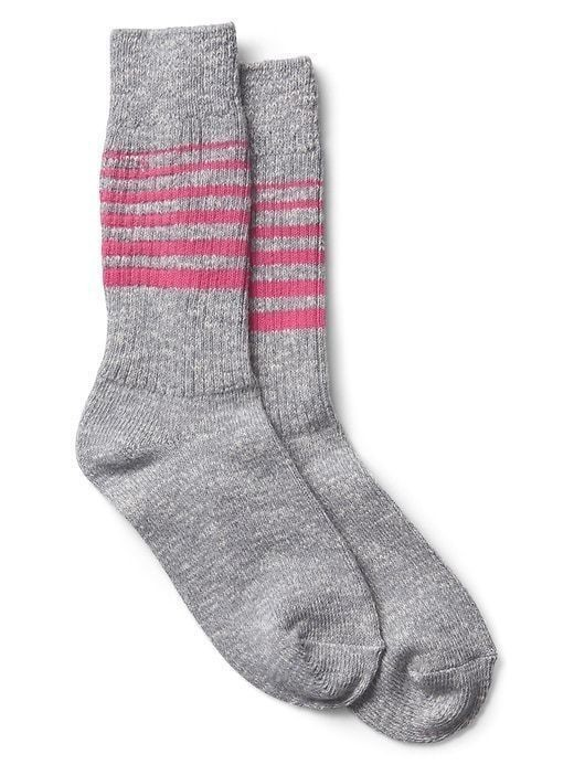 Gap Stripe Boot Socks - Grey