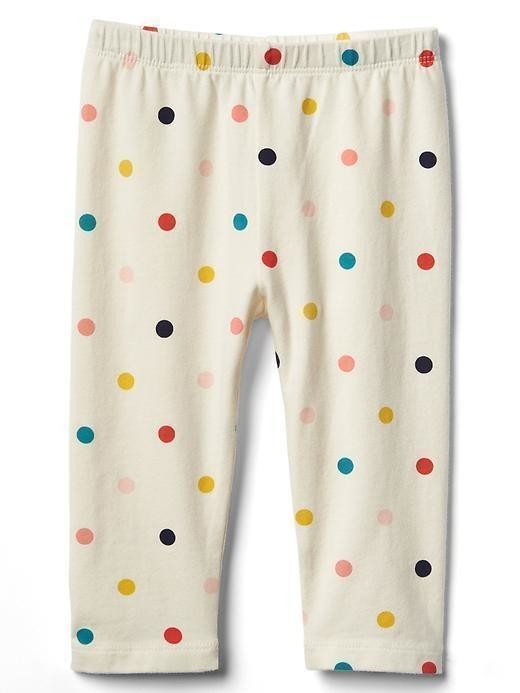 Gap Print Stretch Jersey Leggings - Ivory frost