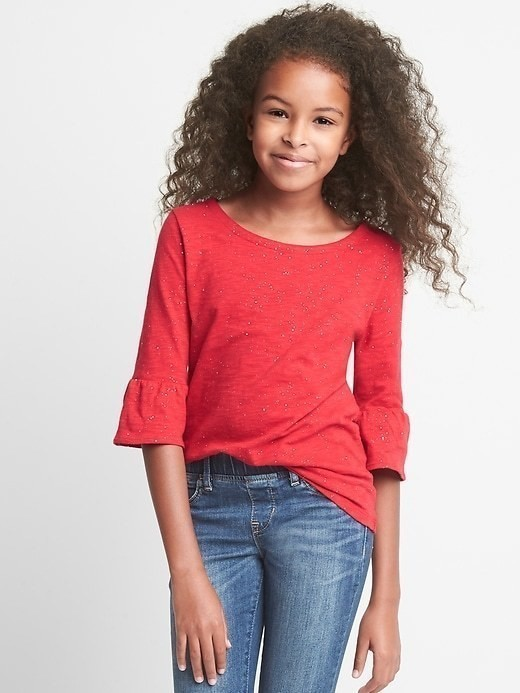Gap Bell Sleeve Tee - Modern red 2