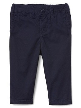 Gap Solid Twill Chinos - Blue uniform
