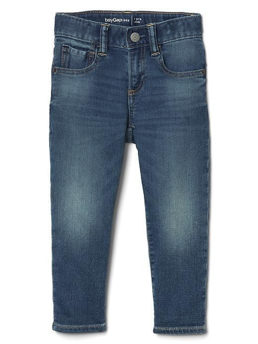 Gap 1969 Supersoft Denim Slim Jeans - Medium wash