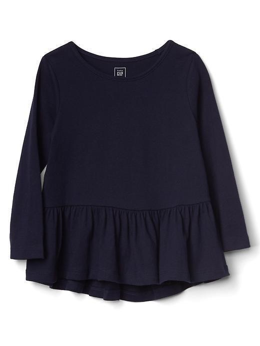 Gap Jersey Peplum Tunic - Blue uniform