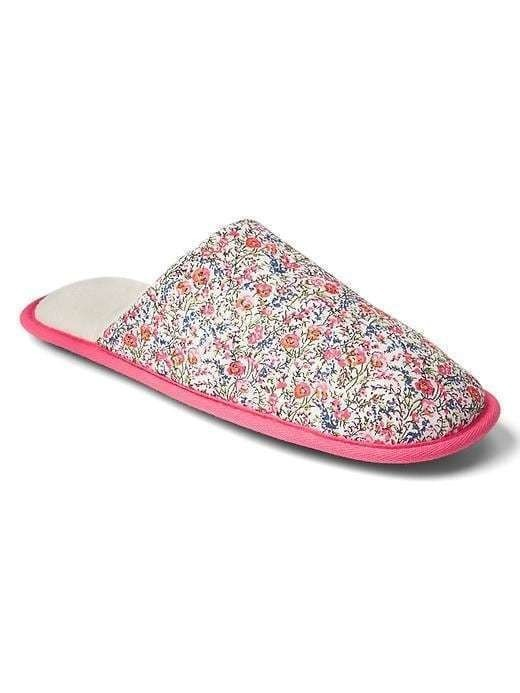 Gap Print Slip On Slippers - Floral