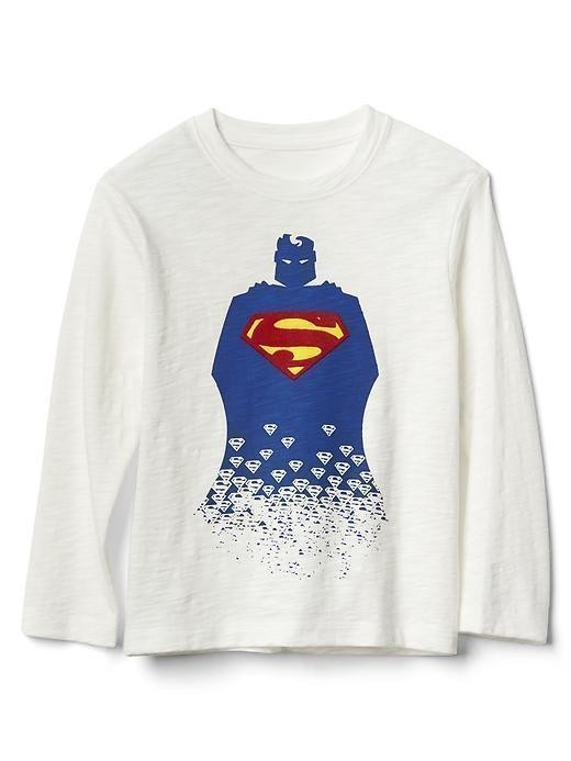 Babygap &#124 Dcâ Superhero Slub Tee - New off white
