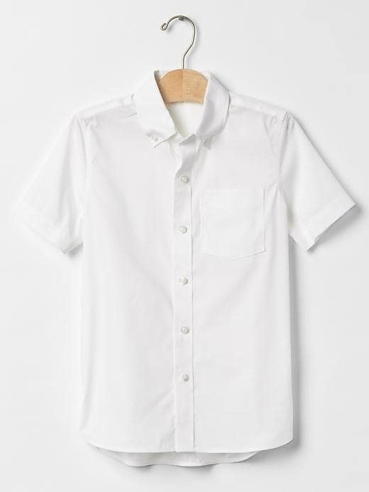 Gap Non Iron Poplin Shirt - Off white