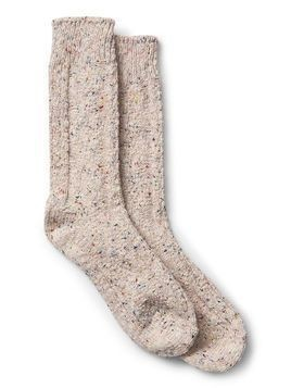 Gap Donegal Boot Socks - Soft pink