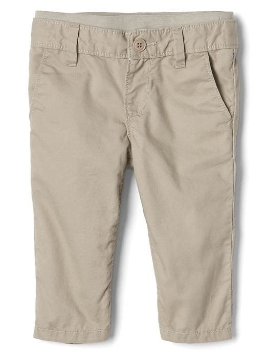 Gap Knit Waist Khaki Pants - Gap khaki