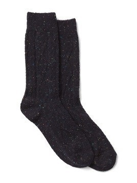 Gap Donegal Boot Socks - Navy081