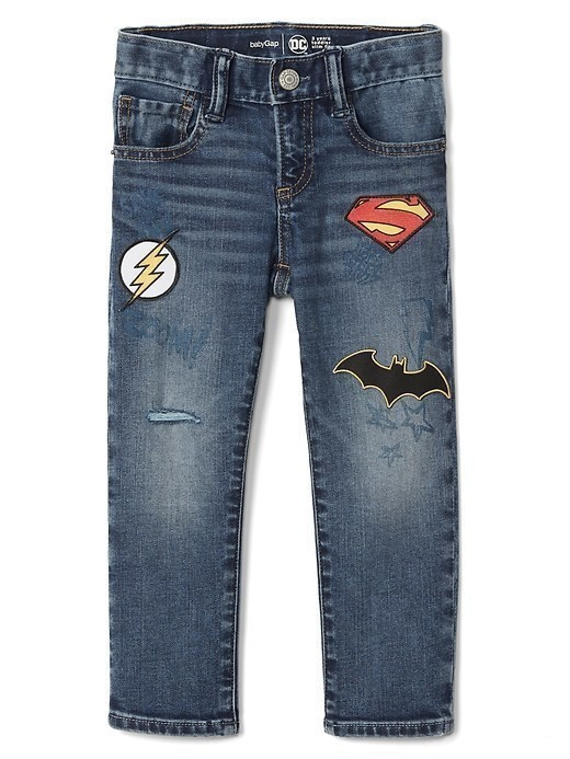 Babygap &#124 Dcâ Justice League High Stretch Slim Jeans - Medium wash