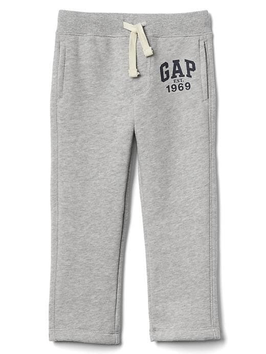 Gap Logo Fleece Sweats - Light heather grey b08
