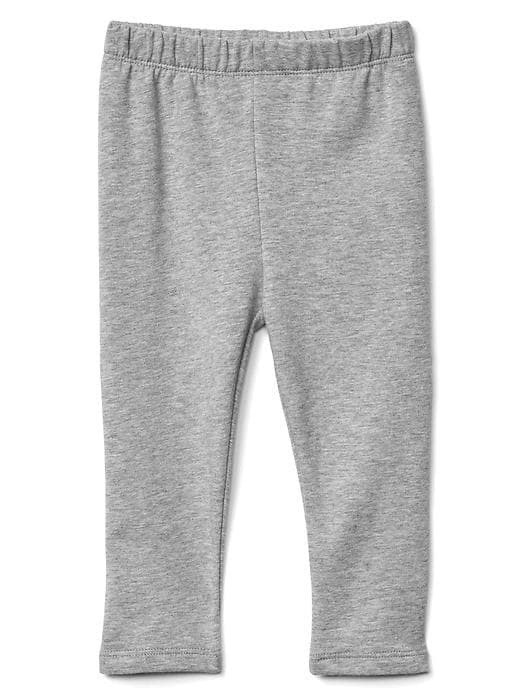 Gap Soft Terry Leggings - Grey heather