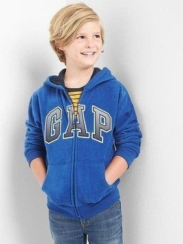 Gap Pro Fleece Logo Zip Hoodie - Bente blue