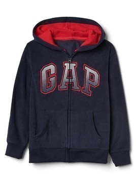 Gap Pro Fleece Logo Zip Hoodie - True indigo